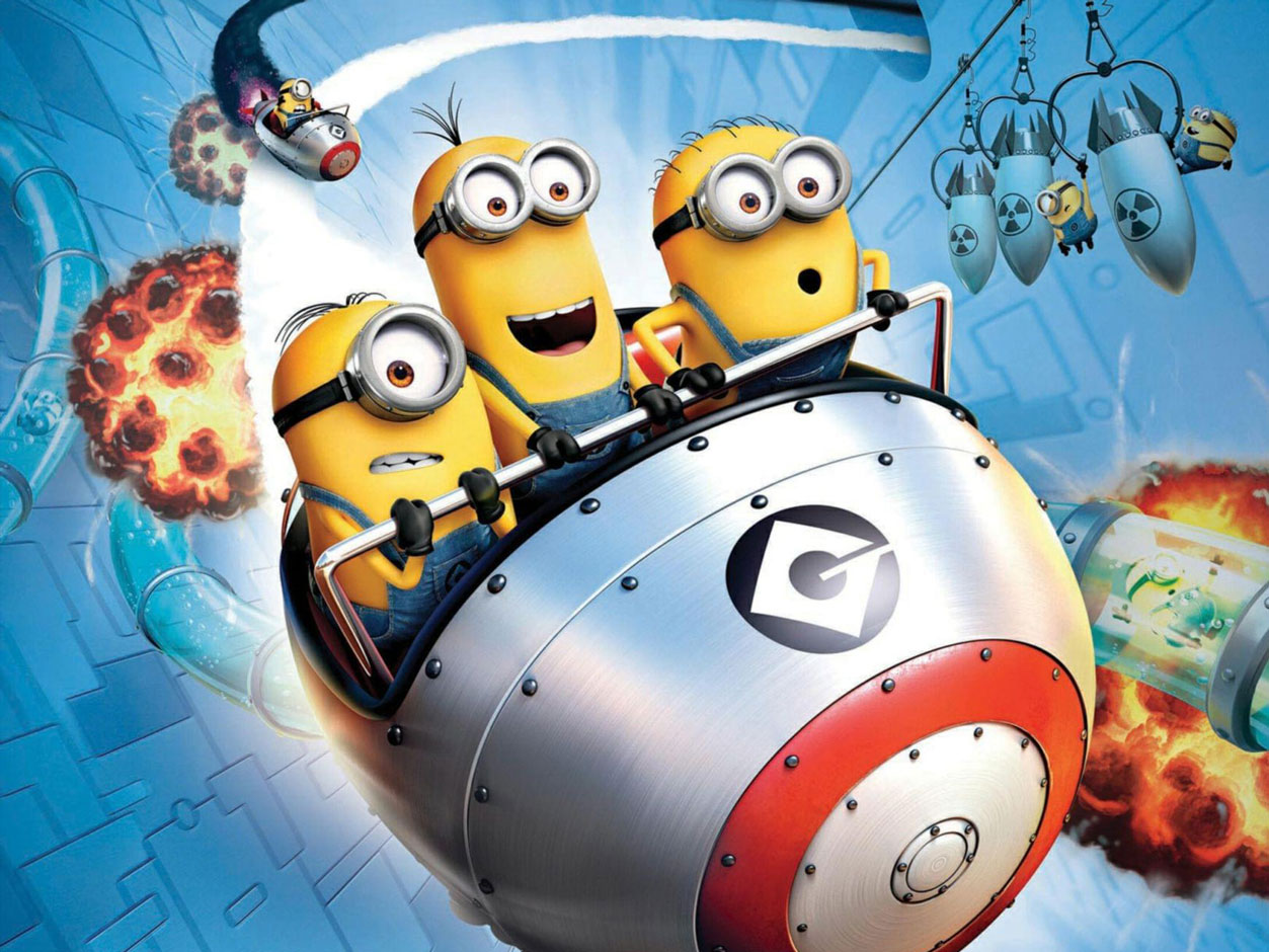 Minion Mayhem: Motion Ride Universal