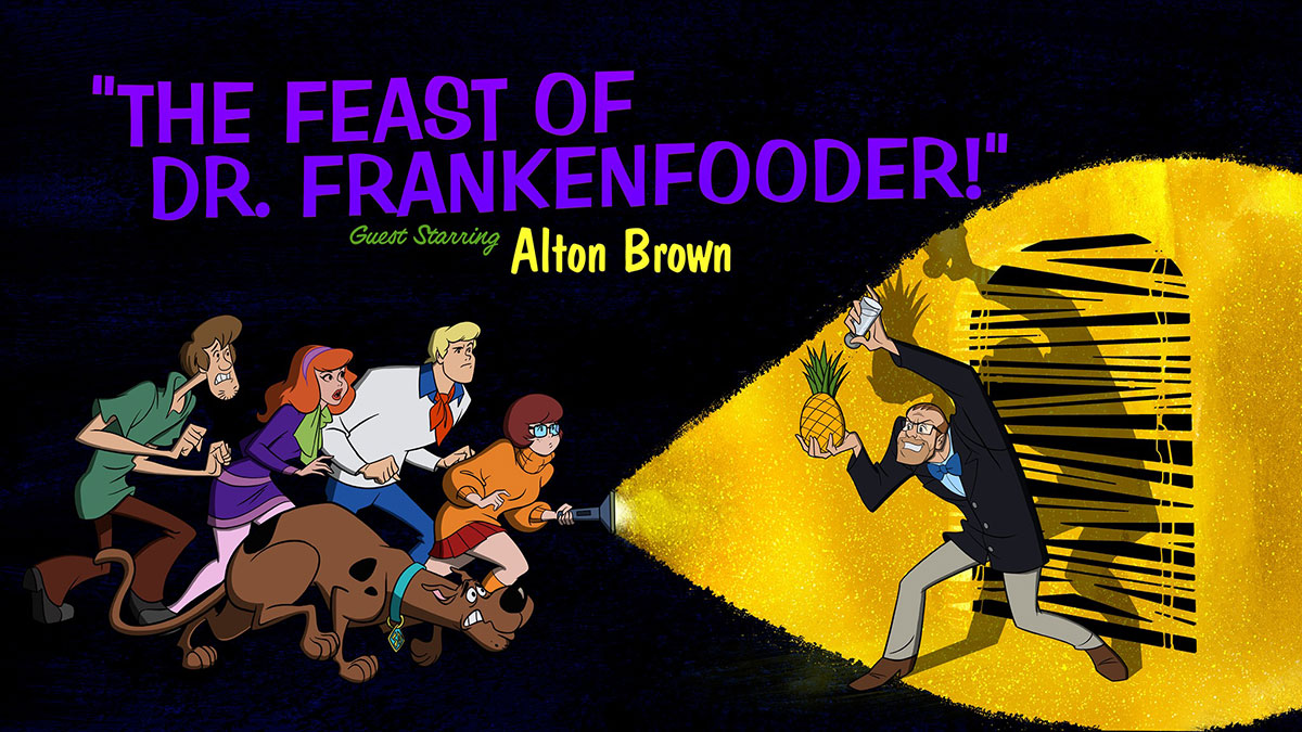 Scooby-Doo and Guess Who? Guest Starring Alton Brown